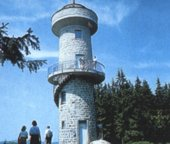 Brend observation tower (1150m = 3773 feet)